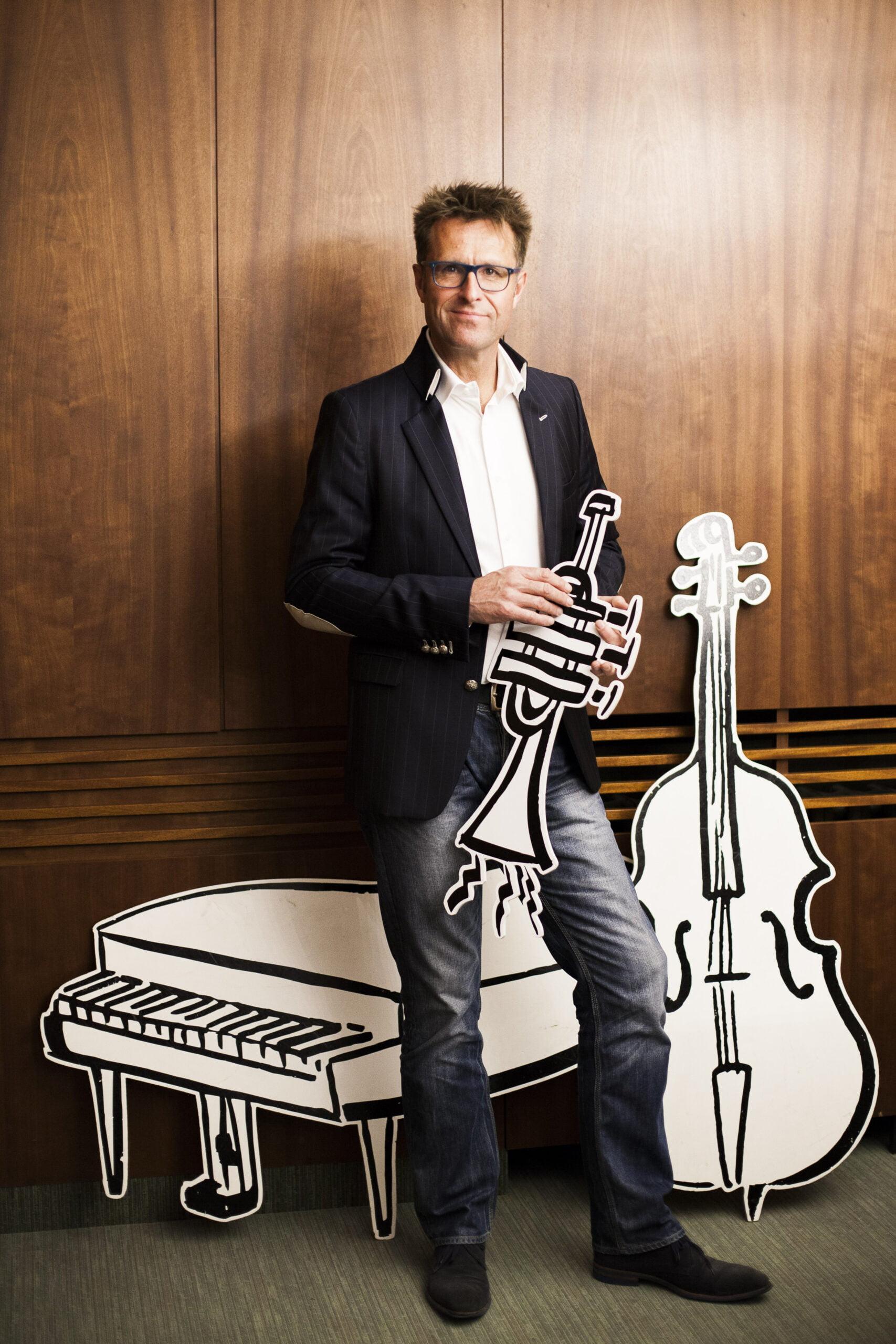Richard de hoop met het orkestspel